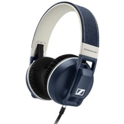 Sennheiser Urbanite XL Stereo Over-the-Head Headphones with Mic, Denim