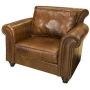 Elements Fine Home Furnishings Paladia Top Grain Leather Chair