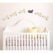 Eco Wall Decals 6 Piece Sheep Wall Decal Set