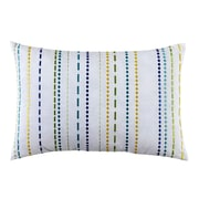 Fiesta LaVida Embroidered 100pct Cotton Lumbar Pillow