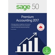 Sage 50 Premium Accounting 2017, Bilingual [Download]
