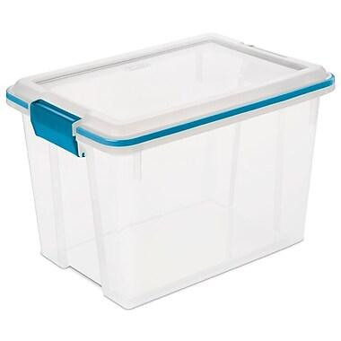 Sterilite 14050 20 Quart/19 Liter Gasket Box, 16 1/8