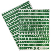 JAM Paper® Self Adhesive Alphabet Letters Stickers, Green, 372/pack (2132817354)