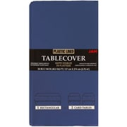 JAM Paper® Paper Table Covers, Blue Table Cloths, Sold Individually (291323329)