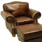 Wildon Home   Leather Club Chair