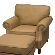 Wildon Home   Leather Club Chair