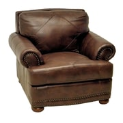 Wildon Home   Stationary Leather Club Chair
