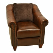 Wildon Home   Union Leather Club Chair
