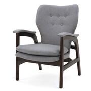 Home Loft Concepts Jolene Arm Chair; Gray