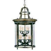 World Imports Lighting French Country 12 Light Outdoor Pendant