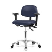 Perch Chairs & Stools Desk Chair; Imperial Blue