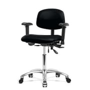 Perch Chairs & Stools Desk Chair; Black