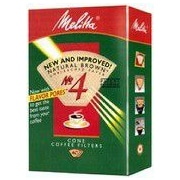 Melitta No. 4 Cone Coffee Filter (Set of 40)