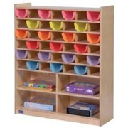 Steffy Mail and Storage 42 Compartment Cubby