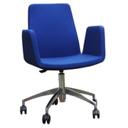 B&T Design High-Back Desk Chair; Blue