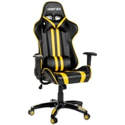 Merax Leather Executive Chair; Yellow