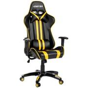 Latitude Run Longford Leather Executive Chair; Yellow