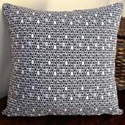 Artisan Pillows Colorful Geometric Dot Indoor Modern Cotton Throw Pillow