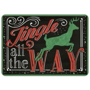 Bungalow Flooring Jingle All the Way Doormat