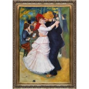 Tori Home Dance at Bougival by Pierre-Auguste Renoir Framed Original Painting