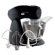 Hamilton Beach Eclectrics All-Metal Stand Mixer; Black Licorice