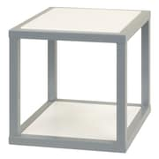 Anthony California 16'' Cube Unit Bookcase; Gray