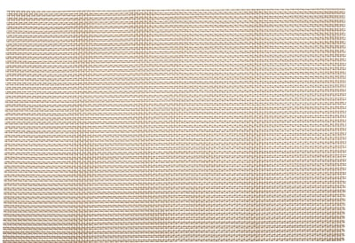 KAF Home Moderne Grid Placemat (Set of 4); Gold WYF078279398412