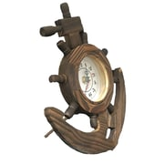 Creative Motion Wooden Clock in Anchor Design