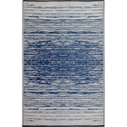 Fab Rugs World Blue Indoor/Outdoor Area Rug; 3' x 5'