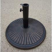 Oakland Living Heavy Duty Cast Iron Multi-use Umbrella Stand; Antique Bronze