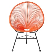 PoliVaz Acapulco Lounge Chair; Orange