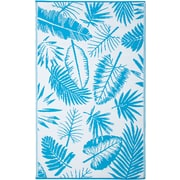 Fab Rugs World Blue Indoor/Outdoor Area Rug; 5' x 8'