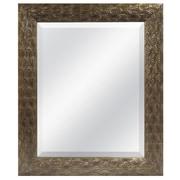 MCSIndustries Antique Gold Peacock Beveled Mirror
