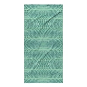 Kavka Palms Bath Towel; Blue Green