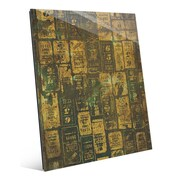Click Wall Art 'Aged Signs' Graphic Art; 20'' H x 16'' W x 1'' D