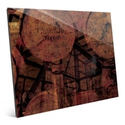 Click Wall Art 'Industrial Scales' Graphic Art; 8'' H x 10'' W x 1'' D