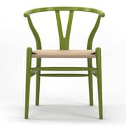 Gibson Living Timber Side Chair; Green