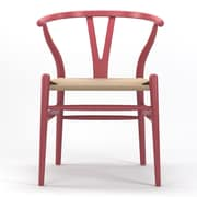 Gibson Living Timber Side Chair; Pink