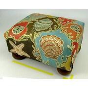 lava Seashell Ottoman