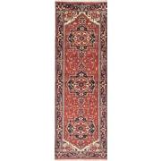 ECARPETGALLERY Serapi Heritage Hand-Knotted Red/Black Area Rug