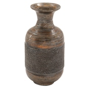 Cole & Grey Lacquer Bamboo Vase; 19'' H x 9'' W x 9'' D