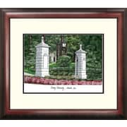 Campus Images NCAA Emory University Alumnus Lithograph Framed Photographic Print