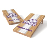 Tailgate Toss NCAA Field College Texas Christian Horn Frogs Cornhole Game Set