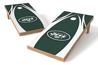 Tailgate Toss NFL Cornhole Game Set; New York Jets WYF078278971294
