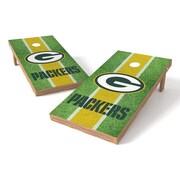 Tailgate Toss NFL Field Cornhole Game Set; Green Bay Packers