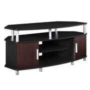 Altra Carson TV Stand; Black/Cherry