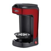 BELLA Single Scoop Coffee Maker; Red