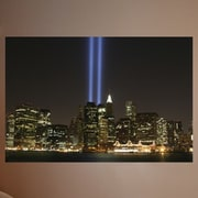 Wallhogs Tribute Lights Glossy Wall Mural; 16'' H x 24'' W x 0.1'' D