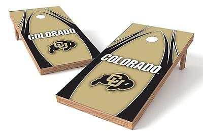 Tailgate Toss NCAA Cornhole Game Set; Colorado Buffaloes WYF078278972858