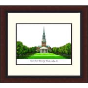 Campus Images NCAA Wake Forest University Legacy Alumnus Lithograph Framed Photographic Print
